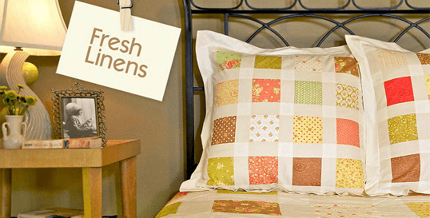 Patchwork Euro Pillow Shams