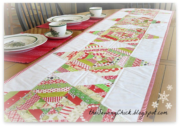 String Stars Table Runner