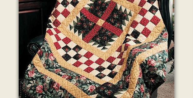 Winter Rose Garden Quilt Pattern