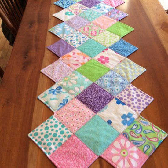 Easter Zig Zag Table Runner