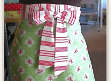 One Hour Apron Tutorial