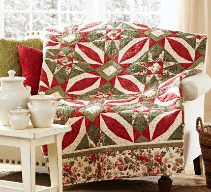 Poinsettia's Allure Quilt