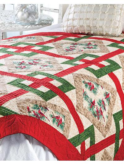 Crisscross Christmas Quilt