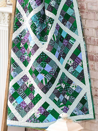 Easy Scrappy Quilt Pattern