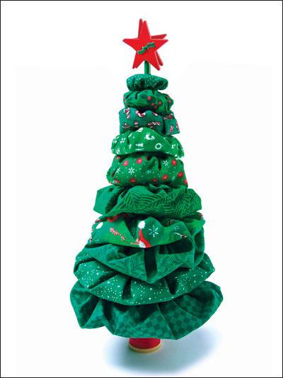 Yo-yo Christmas Tree Pattern