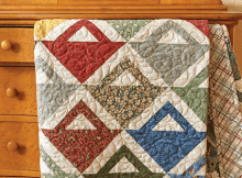 Fat Quarter Baskets Quilt