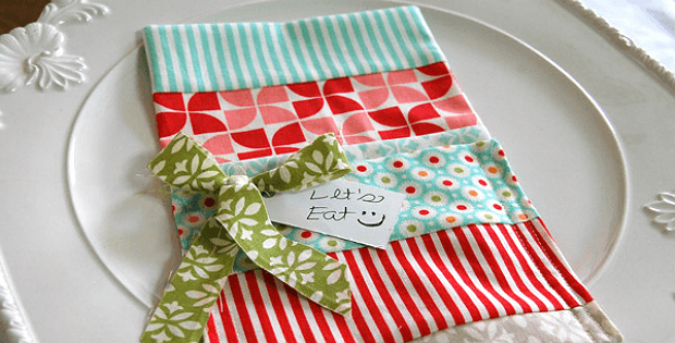 Charming patchwork utensil holders quilting digest