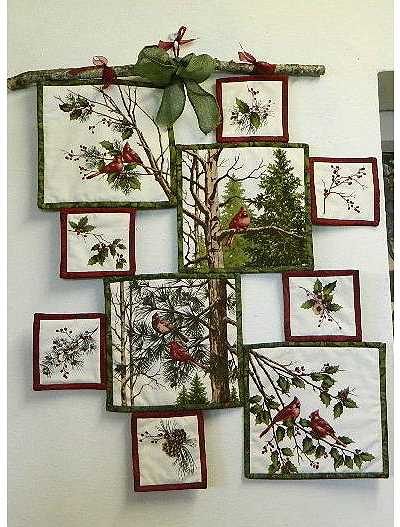 Make a Creative Wall Hanging from a Fabric Panel