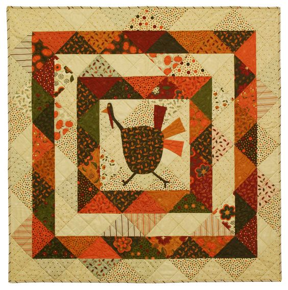 Running Scared Thanskgiving Quilt