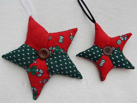 Patchwork Stars for Christmas Tutorial