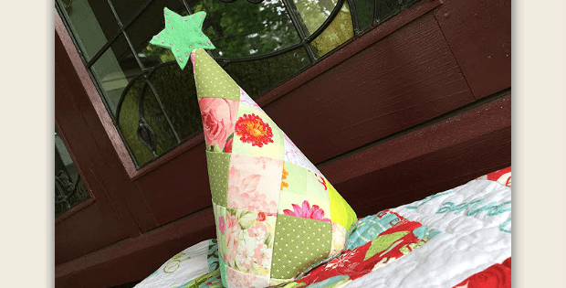 Patchwork Tree Ornament