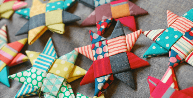 Fold Fabric Into Stars With This Easy Project Quilting Digest