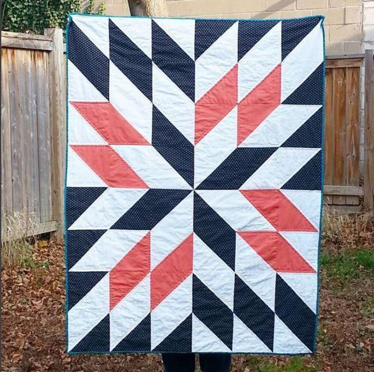 Quilt Patterns Using Squares And Triangles : Half-Square Triangles Create a Stunning Quilt - Quilting Digest