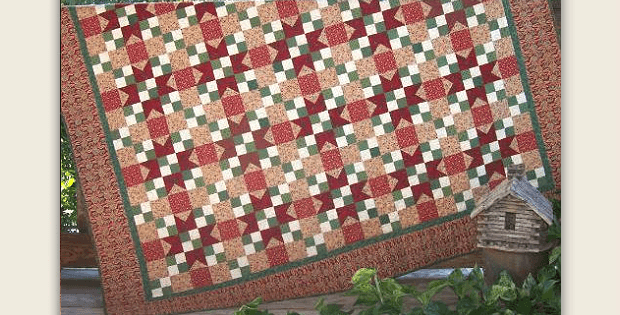 Wintergreen Quilt Pattern