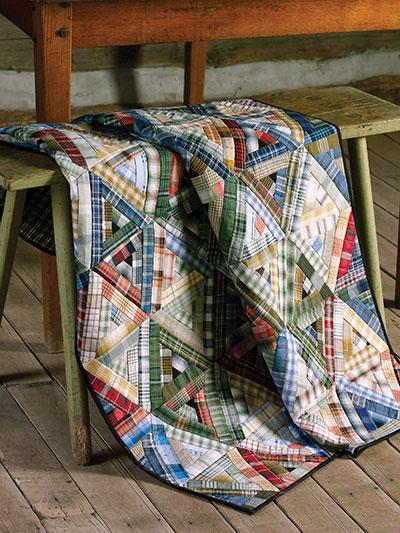 Plaid Fabrics are Wonderful in This Quilt - Quilting Digest