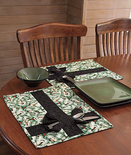 Presently Wrapped Placemats