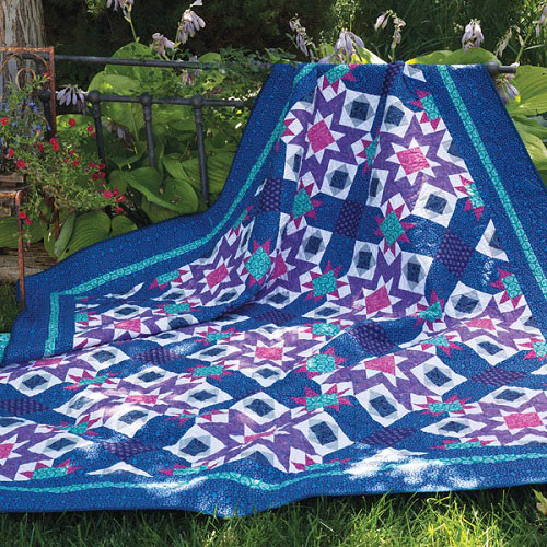 Winter Sunset Quilt