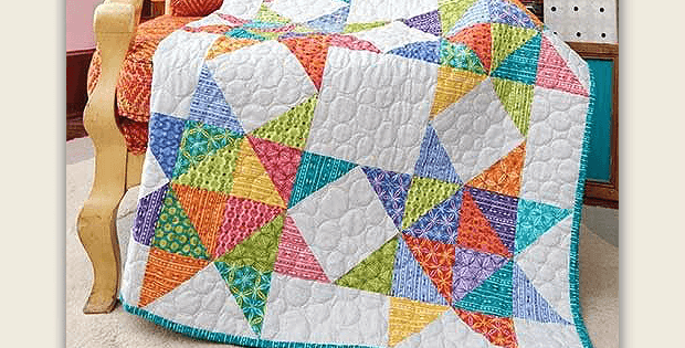 Give This Quilt a Scrappy Look with Charm Packs Quilting Digest Beauteous Quilt Patterns Using Charm Packs