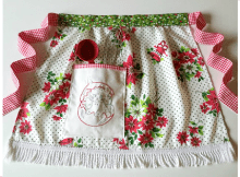 Kitty Christmas Apron