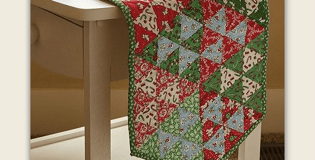 Christmas Confetti Table Runner