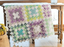 Crocheted Kisses Quilt