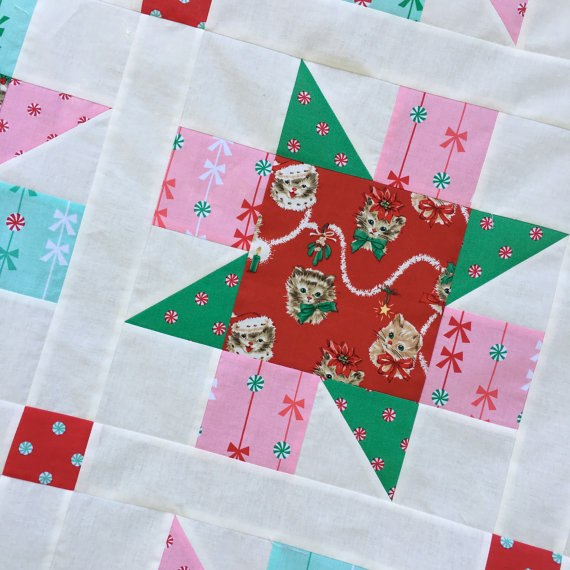 Meowy Christmas Quilt