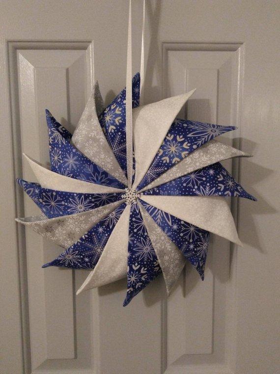 Prairie Point Star Wreath
