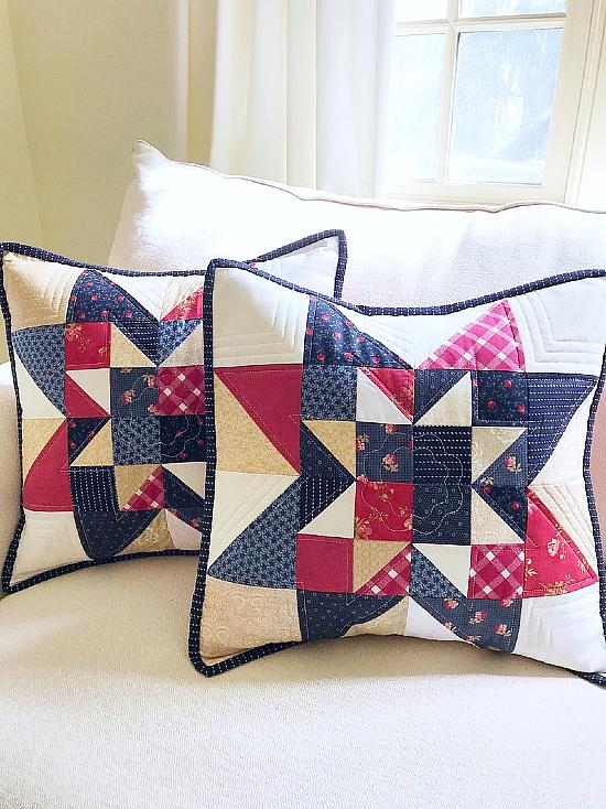 Cottage Star Pillow Pattern