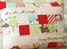 Making It Bright Christmas Pillow