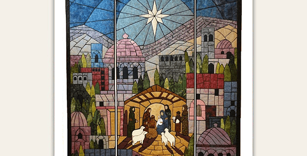 This Nativity Quilt Is Simply Stunning Quilting Digest