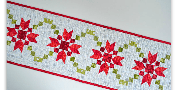 Christmas Runner from Stepping Stones Block