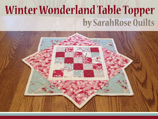 Winter Wonderland Table Topper