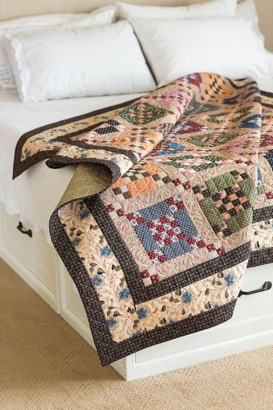 Calming Colors Create A Beautiful Quilt Quilting Digest