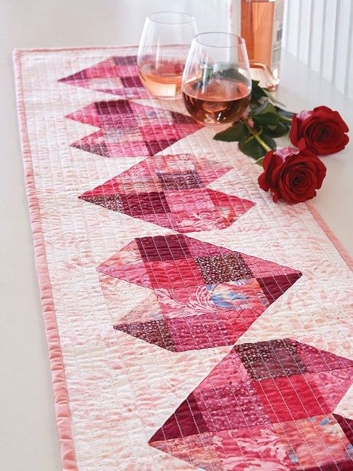 Here's My Heart Table Runner