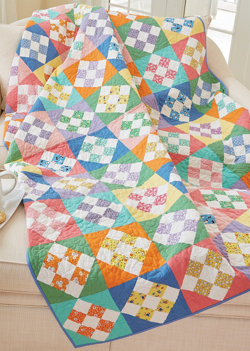Skip To My Lou Quilt Pattern