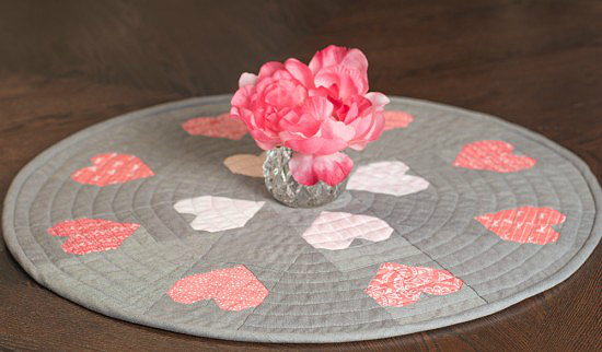 Encircled Love Table Topper Pattern