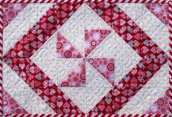 A Pretty Placemat to Make in an Hour - Quilting Digest