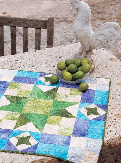 Key Lime Pie Table Topper