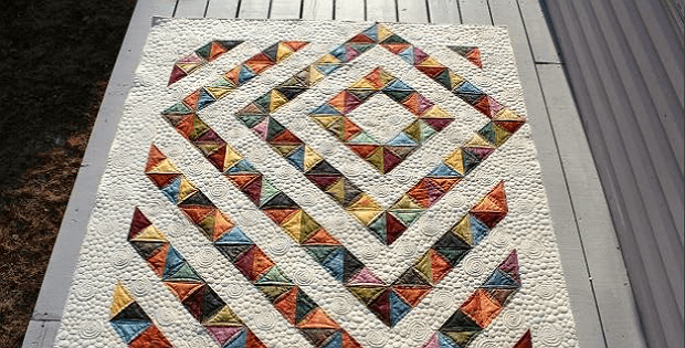 Four Patch Charm Quilt