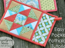 Easy Pocket Potholders