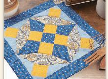 Blue Heaven Hot Mat Pattern