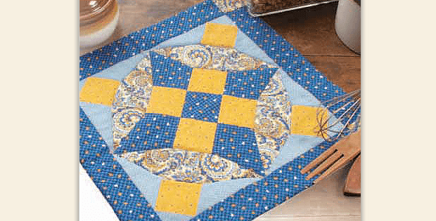 Blue Heaven Hot Mat Pattern