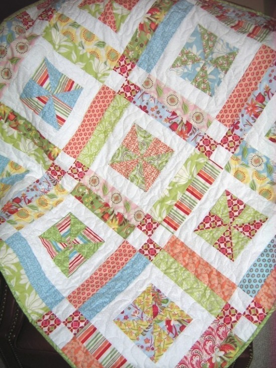 Lemonade Lollipop Quilt