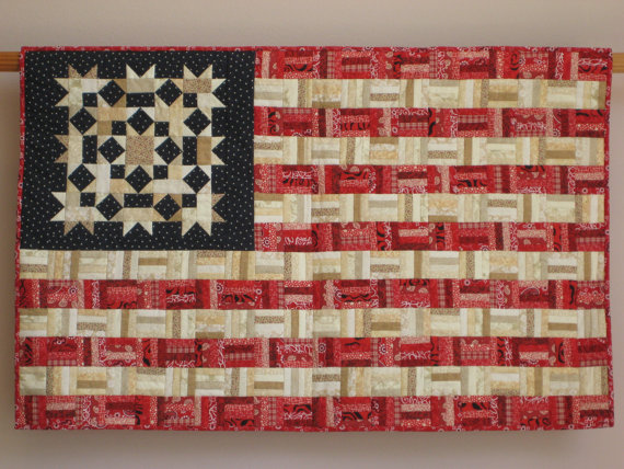Display Your Colors With This Scrappy Flag Quilt Quilting Digest