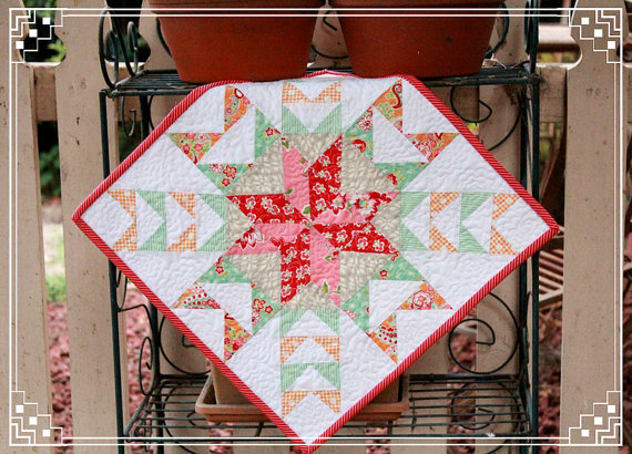 Spider's Web Mini Quilt