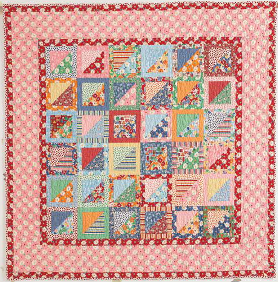 Quilting Digest Free Patterns : Use Fabric from Your Stash for a Delightful Quilt - Quilting Digest