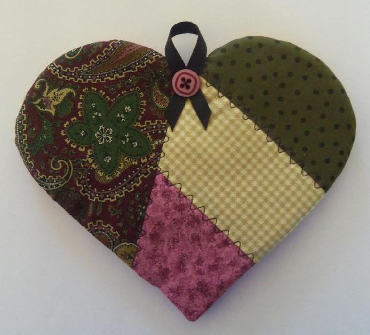 This Sweet Heart Potholder Is So Charming Quilting Digest