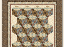 Nine Patch Tumbler Quilt