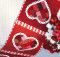 Patchwork Valentine Table Runner