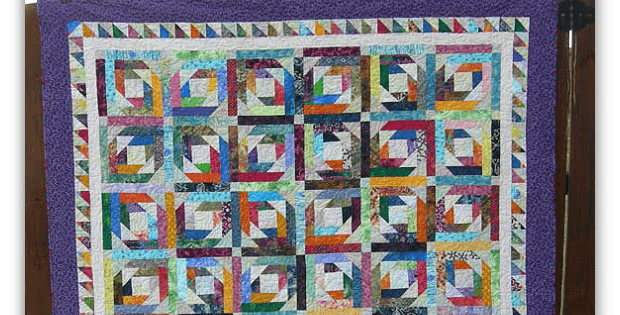 Pineapple Blossom Blocks Star In A Lovely Quilt Quilting Digest